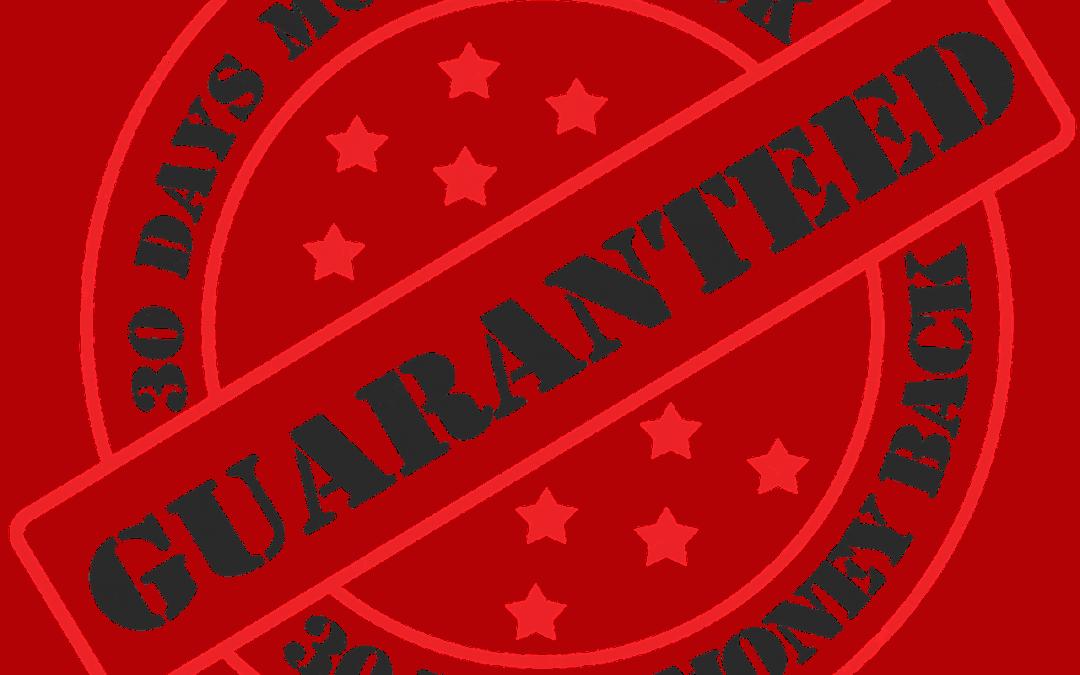 Garantie Kundenorientierung Kundenzufriedenheit